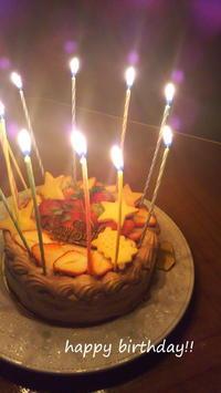 *Birth day cake 12歳 * - ちょこちょこ*homemade Life