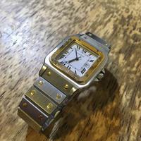 カルティエ サントスガルベLM 自動巻き腕時計修理 - トライフル・西荻窪・時計修理とアンティーク時計の店