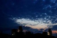 雲の切れ間が龍雲 - 三恵 poem  art