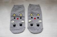 猫柄の靴下いろいろ♪① - きょうだい猫と仲良し暮らし