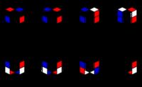 [スピードキューブ] D面クロスパターン - PAZUのマジックノート