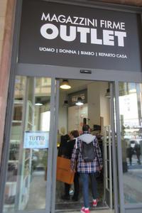 ミラノ中心部のアウトレット~Magazzini Firme Outlet~ - ビーズ・フェルト刺繍作家PieniSieniのブログ