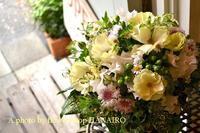 お悔やみのお花です。 - 花色~あなたの好きなお花屋さんになりたい~