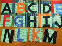 アルファベットキルト - eri-quilt日記2
