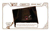 "Trigger on the road _ Tutorial café 'クモの巣' - モバイルゲーム ""Trigger on the road """