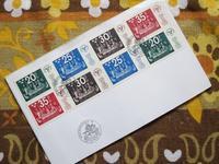 スウェーデンの国際切手展のFDC -  Der Liebling ~蚤の市フリークの雑貨手帖2冊目~