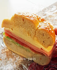 OZOサンドと桜を愛でる - パンある日記(仮)@この世にパンがある限り。