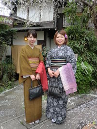 桜の季節、今年もようこそお越しくださいました。 - 京都嵐山 着物レンタル&着付け「遊月」