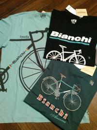 Bianchi × UNIQLO - Circolo Macchina