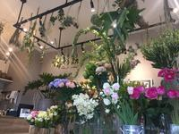 左手に花束と、右手にコーヒー豆を。 - 風景ノート。