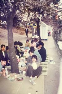 1986年4月6日 夙川公園 お花見 - あどばた会議