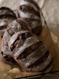 チョコカンパーニュとパン柄トート - bouleな日々