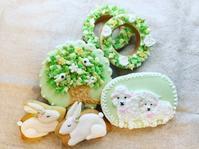 春のグリーン アイシングクッキー - 調布の小さな手作りお菓子・パン教室 アトリエタルトタタン