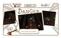 "Trigger on the road _ Tutorial café '骸骨の警告' - モバイルゲーム ""Trigger on the road """