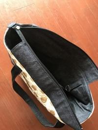 わんこ鞄を【パターンレーベル スマートトート】で作りました - キャバリア@(モト)名古屋