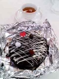 ホームメイド、バレンタインケーキ、ディオ - kankanの家