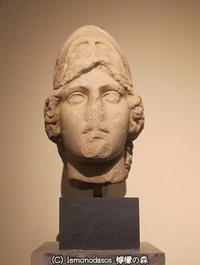 アテナ・ユスティニアニというタイプの頭部彫刻   - 日刊ギリシャ檸檬の森 古代都市を行くタイムトラベラー