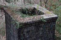 カラミ煉瓦の煙突 - 萩原義弘のすかぶら写真日記