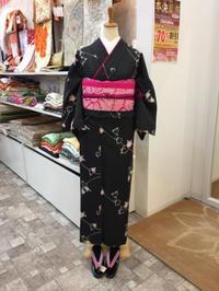 天気が悪い日は洗える着物♫ - Tokyo135° sannomiya