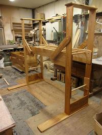 【終了しました】セカンドハンドうんていNタイプ(旧ベース無しタイプ)W1800×H1800×D1140 可動式登り棒2本 - MAGINU STYLE by Art Furniture Gallery