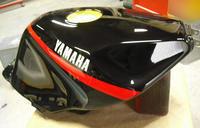 ヤマハFZR1000のガスタンク、、、気になる。。。 - DRESS OUT  White Blog