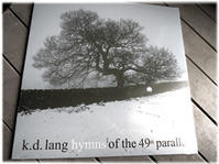 k.d.ラングの『hymns of the 49th parallel』 - nazunaニッキ