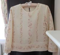 ブラウス『アンリ』YUWAコットンリネンで… - いつかリリアン・ギッシュのように…手作りお洋服のあとりえ便り