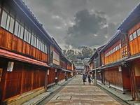 金沢 ひがし茶屋街 - 多分駄文のオジサン旅日記