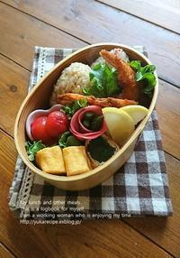 4.10 エビフライ弁当 - YUKA'sレシピ♪