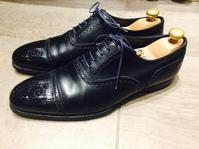 【CROCKETT & JONES 】極上鏡面靴磨で一新 - 銀座三越5F シューケア&リペア工房<紳士靴・婦人靴・バッグ・鞄の修理&ケア>