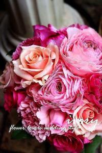 〜週末の婚礼から〜①♬ -  Flower and cafe 花空間 ivory (アイボリー)