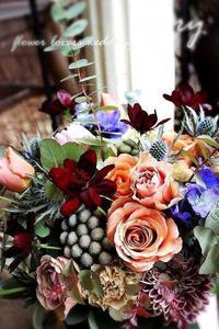 〜週末の婚礼から〜②♬ -  Flower and cafe 花空間 ivory (アイボリー)
