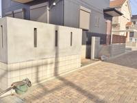 横浜ジョリパット塀塗装 - 横浜の外構エクステリア&ガーデニングのヨコハマリード☆
