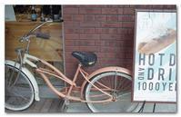 #2155 ピンクの自転車 - at the port