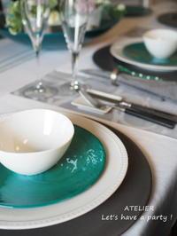 「5月のテーブルコーディネート&おもてなし料理レッスン」のご案内 - ATELIER Let's have a party ! (アトリエレッツハブアパーティー)         テーブルコーディネート&おもてなし料理教室