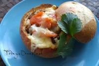 ブレッドボウルの朝ごぱん - 料理研究家ブログ行長万里  日本全国 美味しい話