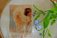 【趣味の刺繍】コツコツと、HAED刺してます。 - 浜松の刺繍教室 l'Atelier de foyu の 日々