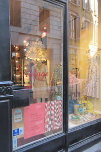 ミラノの素敵な古着屋さん その1~Cavalli e Nastri~ - ビーズ・フェルト刺繍作家PieniSieniのブログ