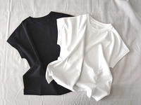強撚綿スムースTシャツ #冷えとり - cotteの冷えとりシンプルライフ