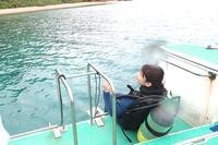 大雨後のダイビングへ 奄美大島瀬戸内町 - 奄美大島 ダイビングライフ    ☆アクアダイブコホロ☆