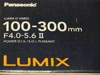 LUMIX G VARIO 100-300mm / F4.0-5.6 / MEGA O.I.S 購入 試し撮り - ☆ぐっさんの写真日記