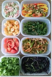 今週の常備菜☆10日間シャキシャキなサラダ菜の保存とスパウト - 素敵な日々ログ+ la vie quotidienne +