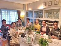 「岡本啓子先生主宰のラ・ココット」でアフタヌーン・ティーをenjoy♪ - 八巻多鶴子が贈る 華麗なるジュエリー・デイズ