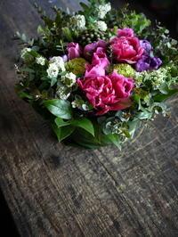 南2西2のネイルサロンの10周年に。2017/04/04。 - 札幌 花屋 meLL flowers