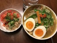 水曜のダイエットメニューは トムヤムスープ麺 ♪ - よく飲むオバチャン☆本日のメニュー