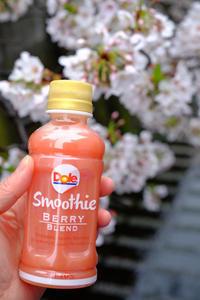 Dole スムージーで桜 お花見♪ - うひひなまいにち