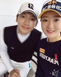 Rain 女子プロゴルファーと - Rain ピ 韓国★ミーハー★Diary
