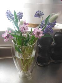 庭の花でミニブーケ - nagameの庭/yarn slave