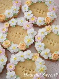 まんまるリースクッキー ~ Thank you ~ - Heartful Sweets