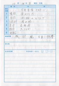 10月13日 - なおちゃんの今日はどんな日?
